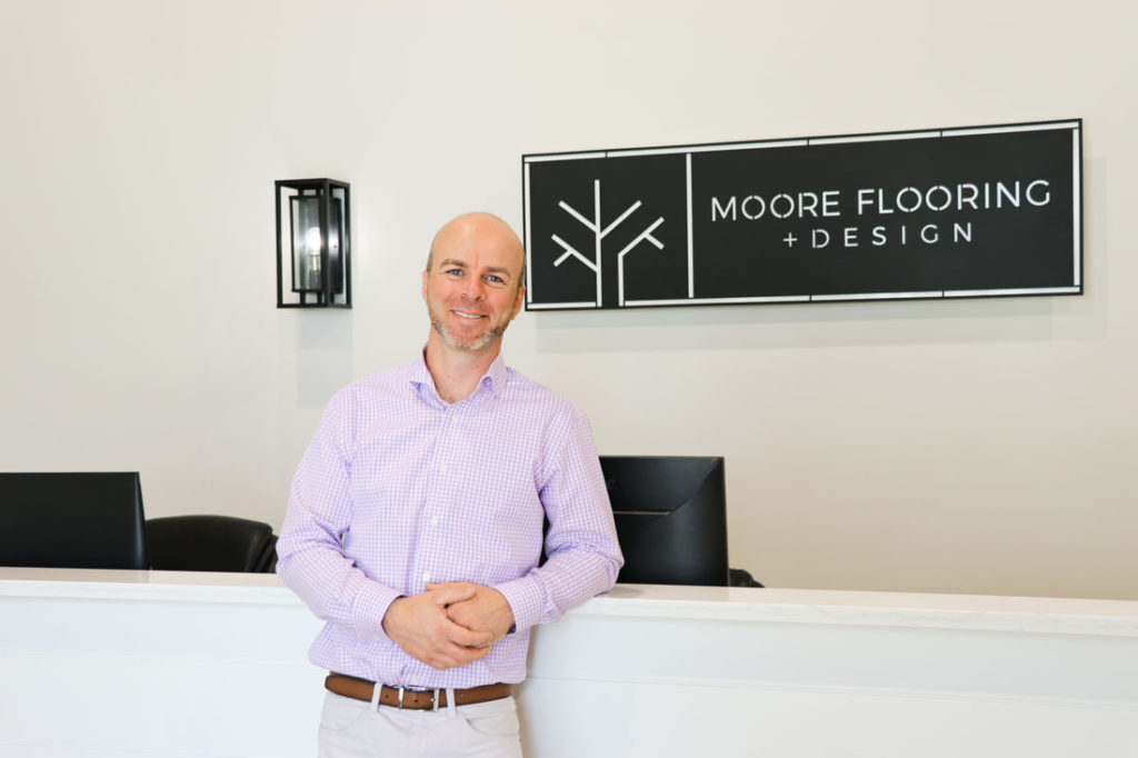 About Moore Flooring + Design London about for Moore Flooring + Design webpage About Moore Flooring + Design London